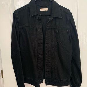 Allsaints black denim jacket